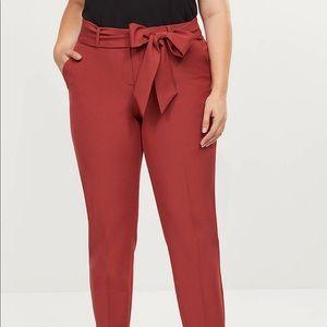Lane Bryant Pants - Lane Bryant Allie Tie Waist Ankle Pant NWT Size 24